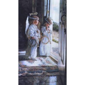 Маленькие ангелы Набор для вышивания CANDAMAR DESIGNS 51315