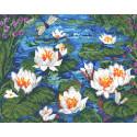 Сад кувшинок Набор для вышивания CANDAMAR DESIGNS 51637