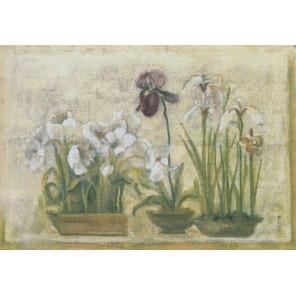 Восточные цветы Набор для вышивания CANDAMAR DESIGNS 51344
