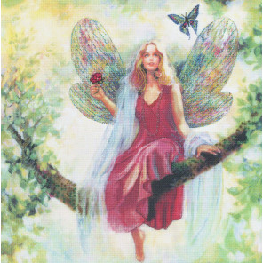 Фея на летнем дереве Набор для вышивания CANDAMAR DESIGNS 51557