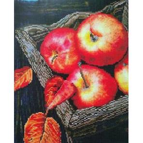Наливные Яблочки Алмазная вышивка мозаика на подрамнике Painting Diamond GF2810