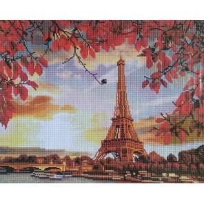 Осень в Париже Алмазная вышивка мозаика на подрамнике Painting Diamond GF2937
