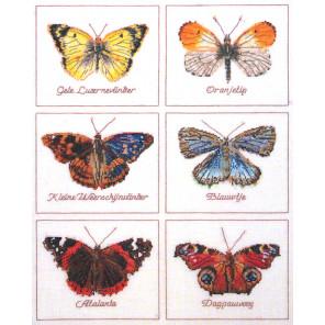 Бабочки Набор для вышивания Thea Gouverneur 2037A