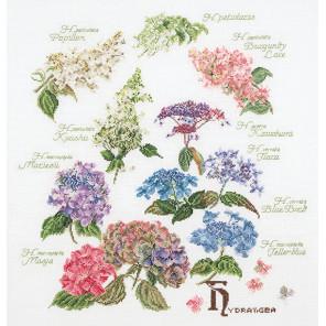 Гортензия Набор для вышивания Thea Gouverneur 3067A