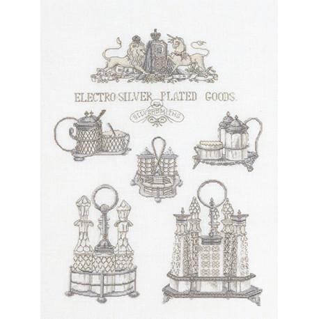 Серебряные изделия Набор для вышивания Thea Gouverneur 2094
