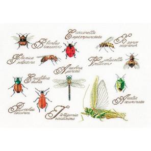 Насекомые Набор для вышивания Thea Gouverneur 3029