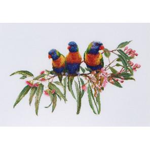 Стайка попугаев Набор для вышивания Thea Gouverneur 553