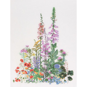 Полевые цветы Набор для вышивания Thea Gouverneur 554A