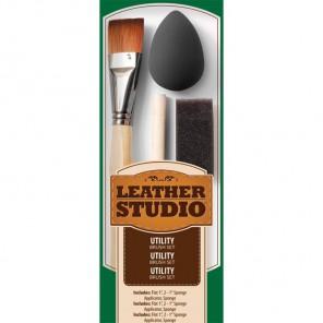 Универсальный Набор кистей Leather Studio Plaid