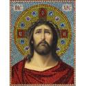 Иисус Христос в Терновом венце Алмазная вышивка термостразами Преобрана 0073