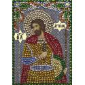 Святой великомученик Артемий Алмазная вышивка термостразами Преобрана