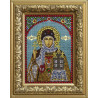 В рамке Святая равноапостольная Княгиня Ольга Алмазная вышивка термостразами Преобрана 0310