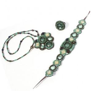 Изумрудная фантазия Набор для шитья и вышивания Матренин Посад 8413