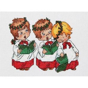 Рождественские песни Набор для вышивания Астрея (Глурия) 641