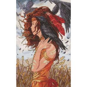 Молодой шаман Набор для вышивания Астрея (Глурия) 502