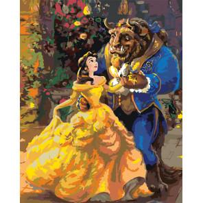 Танец с красавицей Раскраска картина по номерам на холсте ETS32
