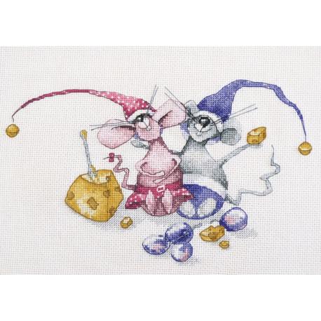 Горошек и фасолинка Набор для вышивания Овен 1196