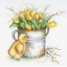 Тюльпановое настроение Набор для вышивания МП Студия А-025
