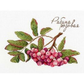 Рябина розовая. Дары природы Набор для вышивания МП Студия НВ-693
