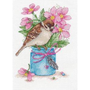 Весенний привет Набор для вышивания Овен 1200