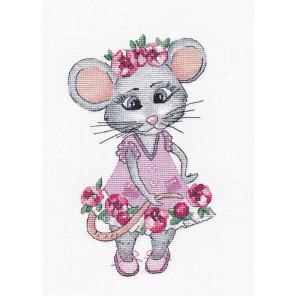 Мышка-вертихвостка Набор для вышивания Овен 1201
