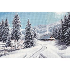 Зимний день Набор для вышивания Овен 1205