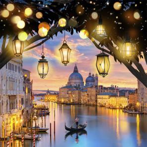 Вечерняя Венеция Алмазная вышивка мозаика АЖ-1782