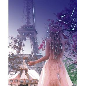 Жизнь в Париже Картина по номерам люминесцентная LPK24034