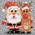 Санта-Клаус Алмазная вышивка мозаика Риолис АМ0018