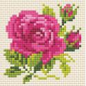 Розочка Алмазная вышивка мозаика Риолис АМ0031
