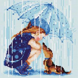 Дождик Алмазная вышивка мозаика Риолис АМ0023