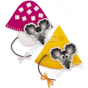 Мышки Набор для вышивания с магнитом Риолис 1813АС