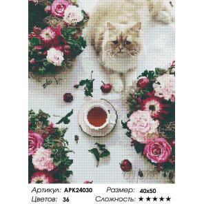 Сложность и количество цветов Разноцветный завтрак Алмазная вышивка мозаика на подрамнике APK24030