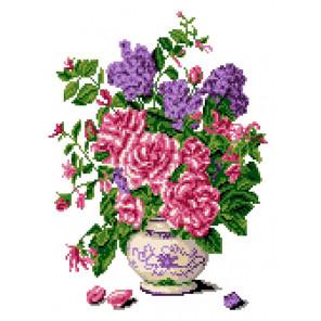 Запах роз Канва с рисунком для вышивки крестом Каролинка КК 054