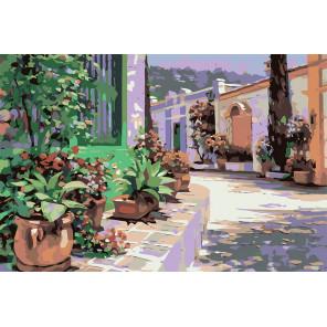Bellagio (художник Говард Беренс) Раскраска по номерам акриловыми красками на холсте Живопись по номерам