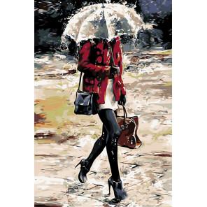 По дороге (художник Emerico Imre Toth) Раскраска по номерам акриловыми красками на холсте Живопись по номерам