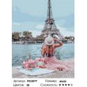 Сложность и количество цветов Пикник в Париже Раскраска картина по номерам на холсте PK33077