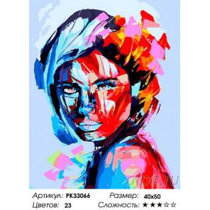 Сложность и количество цветов Вопрос во взгляде Раскраска картина по номерам на холсте PK33066
