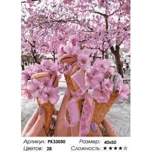 Сложность и количество цветов Цвет и вкус Раскраска картина по номерам на холсте PK33050