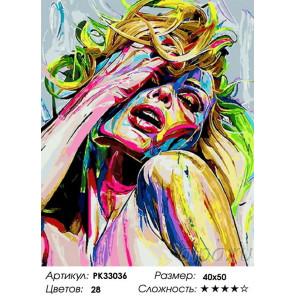 Сложность и количество цветов Эмоция Раскраска картина по номерам на холсте PK33036