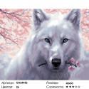 Сложность и количество цветов Нежный зверь Раскраска картина по номерам на холсте GX29952