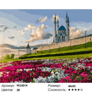 Лето в Казани Раскраска картина по номерам на холсте PK33014