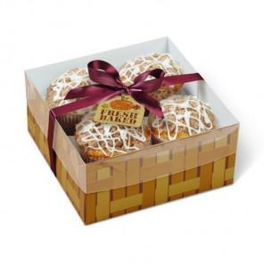 Осень Свежая выпечка Коробка подарочная для десертов Wilton ( Вилтон )