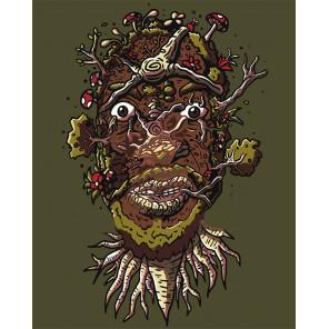Макет Живой портрет Раскраска картина по номерам на холсте Z-AB140-80x100