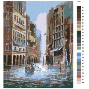 Схема Magical Раскраска по номерам акриловыми красками на холсте Живопись по номерам