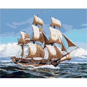 Попутного ветра! Раскраска картина по номерам на холсте KRYM-CR12