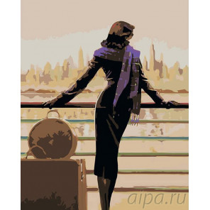 Морской вояж Раскраска картина по номерам на холсте BL03