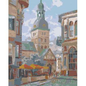 Городская ратуша Раскраска картина по номерам на холсте LV03