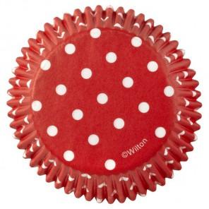 Красный горох Набор бумажных форм для кексов Wilton ( Вилтон )