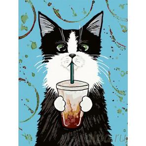 Раскладка Кока-кола Раскраска картина по номерам на холсте A289